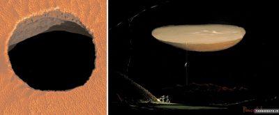 کشف تونلهای زیر سطح مریخ