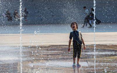 تصاویر روزهای گرم کرونایی مردم در تابستان ۱۳۹۹
