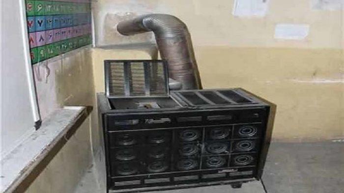 جمع آوری ۱۲۰۵ بخاری نفتی غیر استاندارد در سطح مدارس ایلام